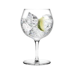 Nude kristal Gin tonic glas op voet 58,5 cl
