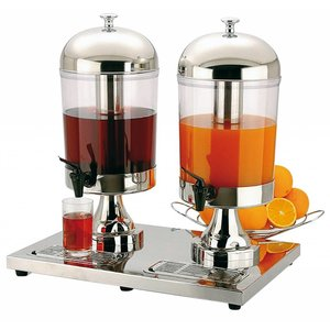 M&T Juice dispenser 2 x 8 liters