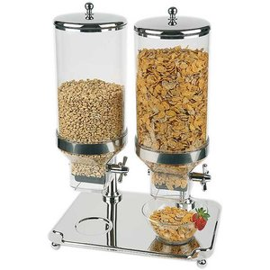 M&T Cereal dispenser 2 x 8 liters