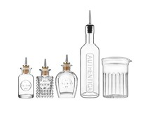 M&T Bar bottle set 5 pieces