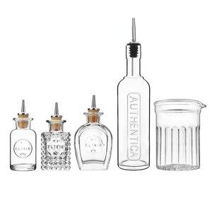 M&T Bar bottle set 5 pieces