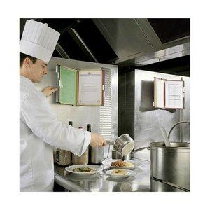 Recepthouder voor keuken wandmodel