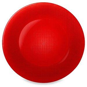 BORMIOLI ROCCO  INCA dinner plate 31 cm red