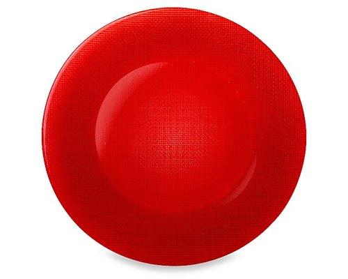 BORMIOLI ROCCO  Plat bord INCA 31 cm rood