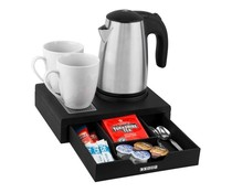 Corby  Welcome tray with drawer complete with kettle 0,6 liter
