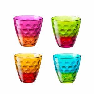 BORMIOLI ROCCO  Set van 4 stuks funny waterglas 25 cl