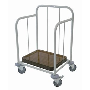 M & T  Tray stacking trolley