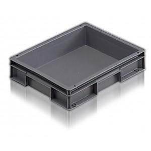 ALLIBERT  Bac empilable gris