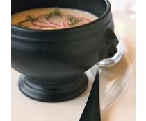 Revol Bol à soupe tetes de lion noir 0,45 litre
