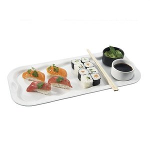 REVOL  Rectangular sushi dish including 2 ramequins