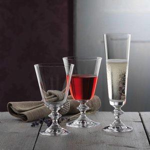 BOHEMIA CRISTAL  Wijnglas 26 cl op voet