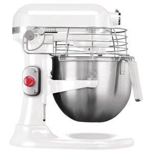 KITCHENAID  Mixer Professional 6,90 litres de couleur blanche