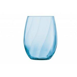 CHEF & SOMMELIER  Verre à eau et longdrink 36 cl bleu