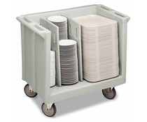 Cambro Tray & dish cart adjustale