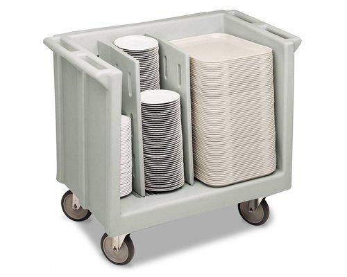 CAMBRO  Tray & dish cart adjustable