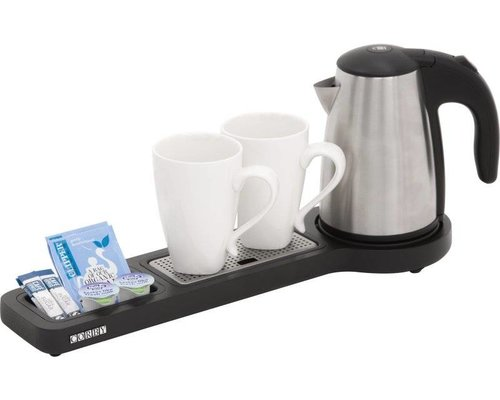 CORBY  Beckett slim & compact welcome tray