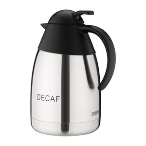 "M&T Insulated jug with engraving ""Decaf"""
