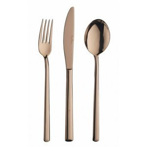 PINTINOX  Coffee spoon  Synthesis Treasure Titanium Bronze
