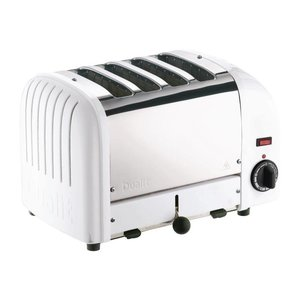 DUALIT  Toaster 4 slices color : white