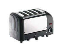 DUALIT  Toaster 4 slices color :black