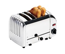 DUALIT  Toaster 4 slices color :stainless steel