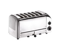 DUALIT  Toaster 6 slices color :stainless steel
