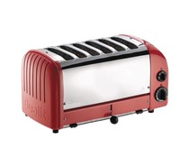 DUALIT  Toaster 6 slices color : red