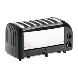 DUALIT  Toaster 6 slices color : black