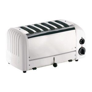 DUALIT  Toaster 6 slices color : white