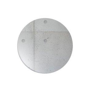 CHEF & SOMMELIER  Flat plate  28,5 cm Concrete