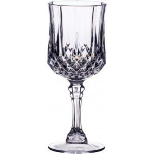 M & T  Wine glass on foot  20 cl polycarbonate Windsor