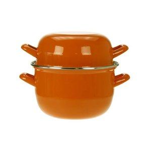 Cosy & Trendy for professionals Mosselpot oranje 1,2 kg