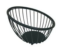 M & T  Fruit and buffet stand 25 cm black metal