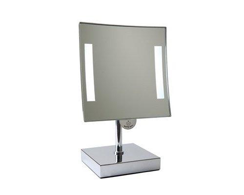 M & T  Badkamer spiegel met LED verlichting  op voet