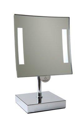Badkamer spiegel met verlichting op voet - M&T International Hotel ...