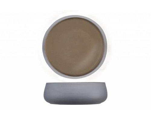 M & T  Bowl 16 cm x h 5,5 cm Iowa taupe