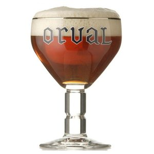 M & T  Orval  glas 33 cl