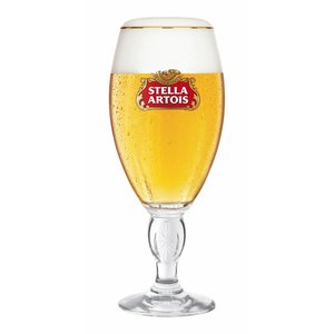 M & T  Verre à Stella Artois sur pied 25 cl