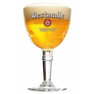 M & T  Westmalle glas 33 cl