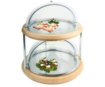 M & T  Buffet display double decker 11 pieces