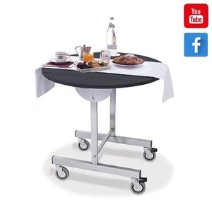 M & T  Roomservice tafel 80 cm