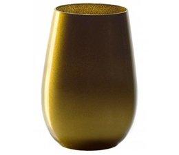 STÖLZLE  High  ball glass  47 cl gold Olympic