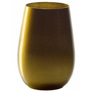 STÖLZLE  Water & longdrink glas 47 cl  goud Olympic
