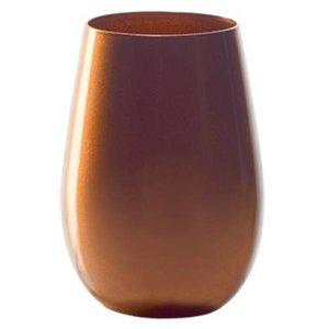STÖLZLE  Water & longdrink glas 47 cl brons Olympic