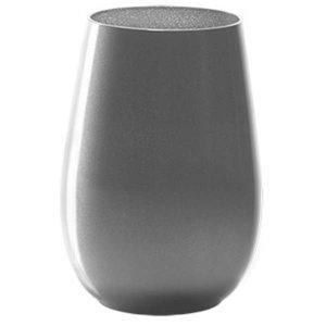 STÖLZLE  Water & longdrink glas 47 cl zilver Olympic