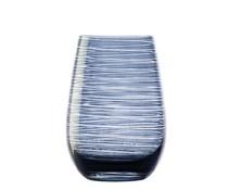 STÖLZLE  Water & longdrink glas 47 cl blauw/grijs Twister