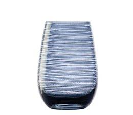 STÖLZLE  High  ball glass  47 cl  blue/grey Twister