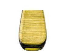 STÖLZLE  Water & longdrink glas 47 cl amber Twister