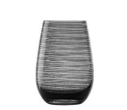 STÖLZLE  High  ball glass  47 cl  smokey grey Twister
