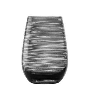 STÖLZLE  Water & longdrink glas 47 cl smokey grijs Twister